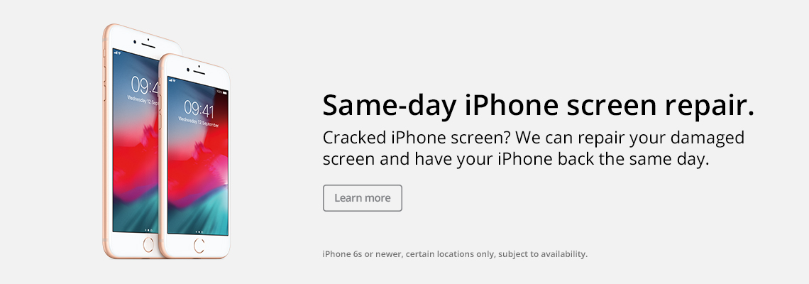 Same-day iPhone screen repair