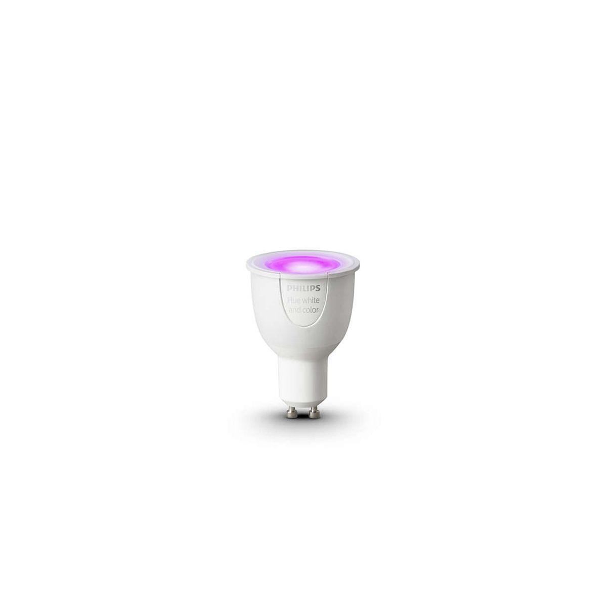 Hue White and Colour Ambience Single GU10 v2