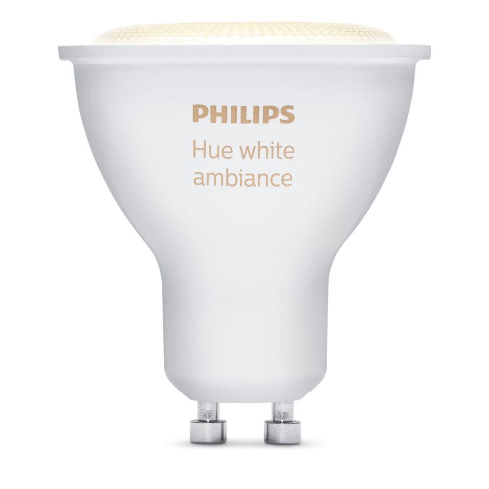 Hue White Ambience Single Bulb GU10