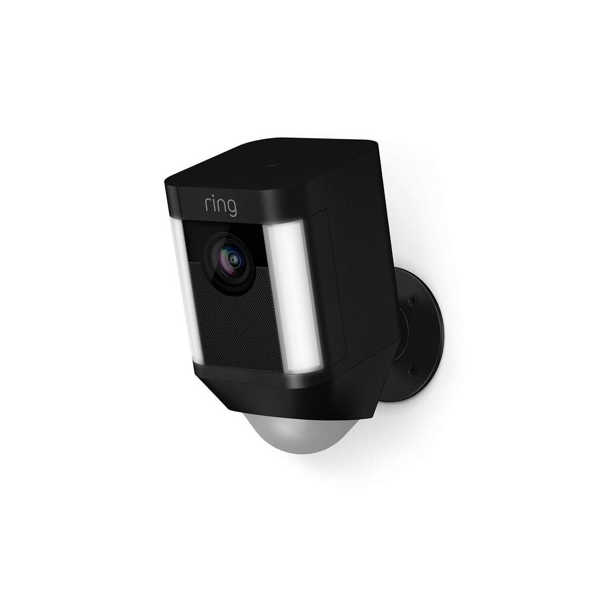Ring Battery Spotlight Cam Black