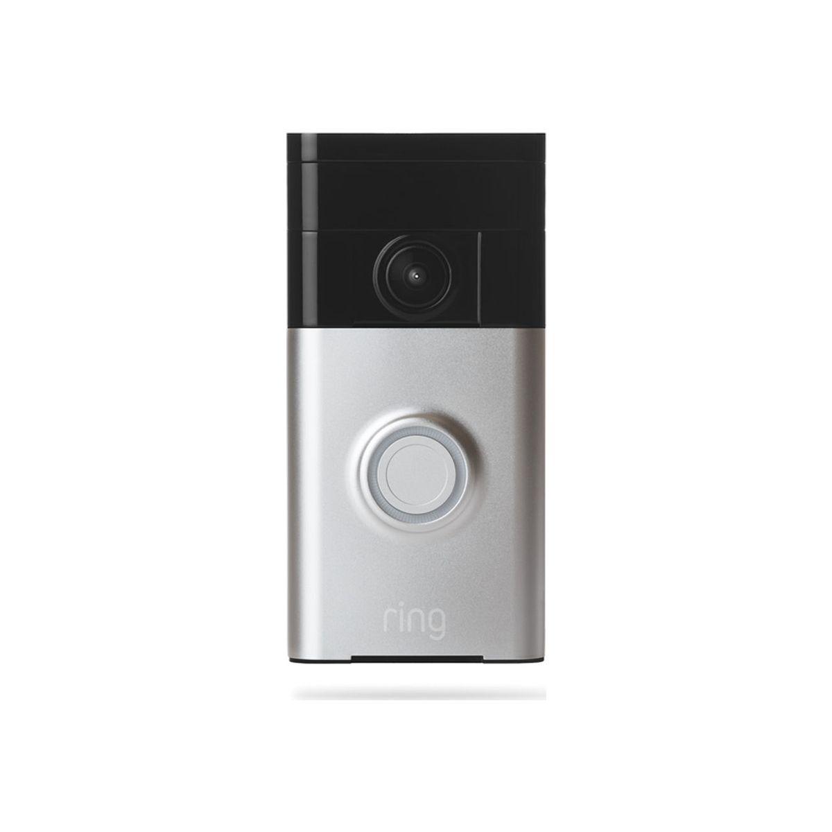 Ring Video Doorbell Satin Nickel